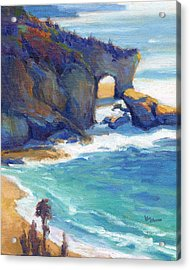 Acrylic Print featuring the painting Arch At Treasure Island by Konnie Kim