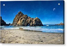 Acrylic Print featuring the photograph Keyhole Rock At Pheiffer Beach #14 - Big Sur, Ca by Jennifer Rondinelli Reilly - Fine Art Photography