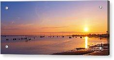 Keyport Harbor Sunrise  Acrylic Print