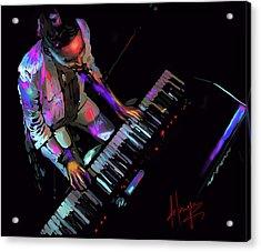 Keys From Above Acrylic Print