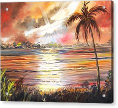 Keys Sunrise, Sunset Acrylic Print