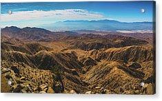 Keys View Overlook Panorama Acrylic Print