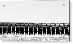 Keystone Dam Panoramic Acrylic Print