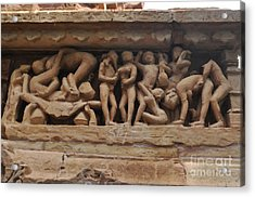 Khajuraho Temples-1 Acrylic Print