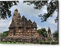 Khajuraho Temples 4 Acrylic Print