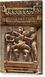 Khajuraho Temples 5 Acrylic Print