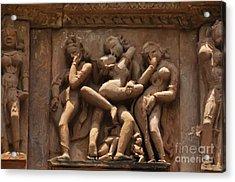 Khajuraho Temples 6 Acrylic Print