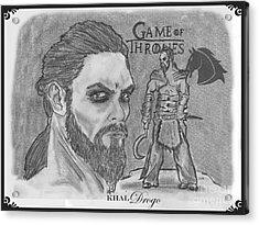 Khal Drogo -dothraki Warlord Acrylic Print