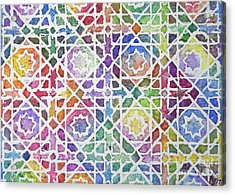 Khalidiya Acrylic Print by Holly York