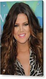 Khloe Kardashian At Arrivals For 2011 Acrylic Print by Everett