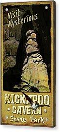 Kickapoo Cavern State Park Acrylic Print