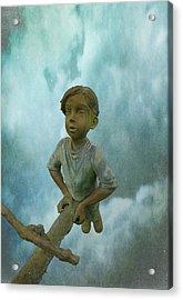 Kid 7 Acrylic Print by Dale Stillman