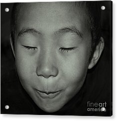 Kid From Beijing  Acrylic Print