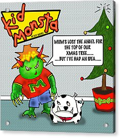 Kid Monsta Xmas 1 Acrylic Print