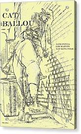 Kid Shelleen, Cat Ballou, Academy Award Winner  Lee Marvin Acrylic Print