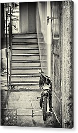 Kid's Bike Acrylic Print by Silvia Ganora