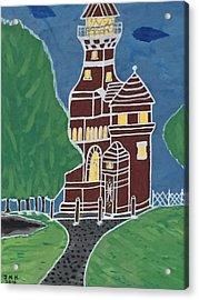 Kiel Germany Lighthouse. Acrylic Print