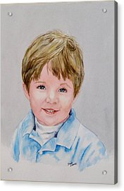 Kieran - Commissioned Portrait Acrylic Print