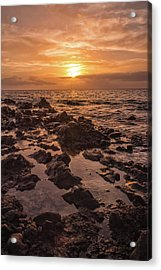 Kihei Sunset 2 - Maui Hawaii Acrylic Print by Brian Harig