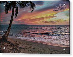 Kihei Sunset Acrylic Print