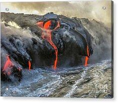 Kilauea Volcano Hawaii Acrylic Print