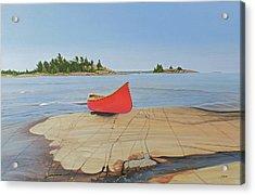 Killarney Canoe Acrylic Print