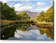 Killarney Lake Reflection Ireland Acrylic Print by Pierre Leclerc Photography