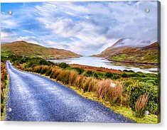 Killary Fjord In Ireland's Connemara Acrylic Print by Mark E Tisdale