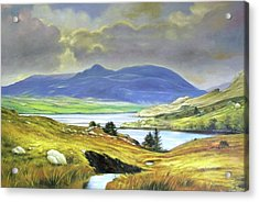 Killary Harbour County Mayo Acrylic Print by Conor McGuire
