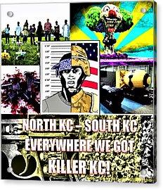 Killer Kc Acrylic Print