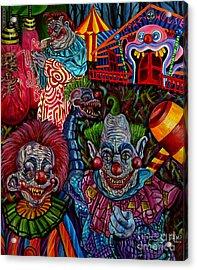 killer Klowns Acrylic Print