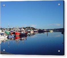 Killeybeggs Harbor Acrylic Print