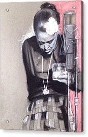Killing Billie Holiday Acrylic Print
