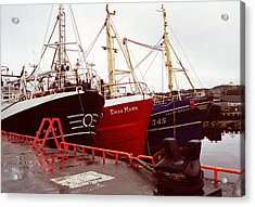Killybegs Acrylic Print by Erin Cadigan