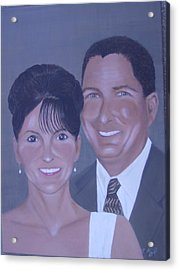 Kim And Kevin Acrylic Print by KC Knight