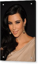 Kim Kardashian In Attendance Acrylic Print