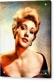 Kim Novak, Vintage Hollywood Actress Acrylic Print by Frank Falcon