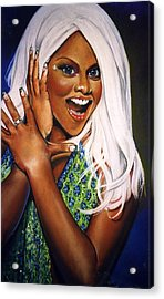 Kim Acrylic Print