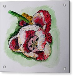 Kimberly's Flowers Acrylic Print