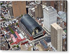 Kimmel Center For The Preforming Arts Acrylic Print by Duncan Pearson