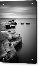 Kimmeridge Bay II Acrylic Print by Nina Papiorek