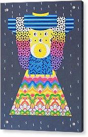 Kimono Acrylic Print by Thomas Gronowski