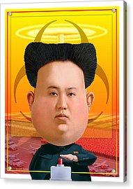 Kim Jong Un 2016 Acrylic Print