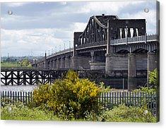Acrylic Print featuring the photograph Kincardine Bridge by Jeremy Lavender Photography