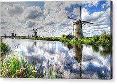 Kinderdijk Acrylic Print