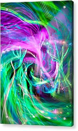 Kinetic Acrylic Print by Az Jackson