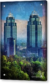 King And Queen Buildings Acrylic Print