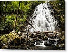 Crabtree Falls - Blue Ridge Parkway North Carolina Acrylic Print