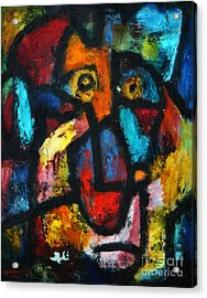 King Clown Acrylic Print