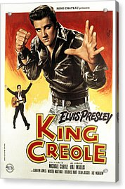 King Creole, Elvis Presley, 1958 Acrylic Print by Everett